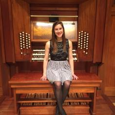 Post-recital at Furman University, February 2016