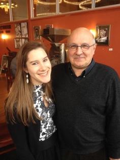 With Michel Bouvard, professor from Conservatoire de Toulouse